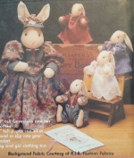The English Governess and Her Pupils from Gooseberry Hill [Sewing Pattern for 38cm and 15cm Rabits]