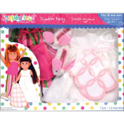 Fibre Craft Springfield Collection Slumber Party Doll Clothes Set