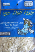 Maxi Craft DOLL HAIR 40ml Pack (Covers 2 Sq. Ft.) BLONDE Colour