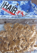 Spare Parts Craft TINY CURL DOLL HAIR Pack 30ml LIGHT BROWN Colour
