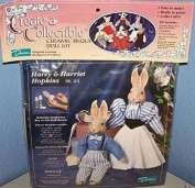 Harey & Harriet Hopkins - Create a Collectible Ceramic Bisque Doll Kit