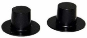 1.9cm Black Acrylic Top Hats ~ Package of 288