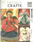 McCall's Pattern M4335 - Angel Costume Outfits for 29cm Fashion Dolls