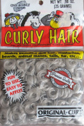 One & Only Craft PREMIUM CURLY DOLL HAIR .2660ml (25 Grammes) STORMY grey Colour ORIGINAL CURL