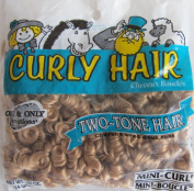 One & Only Craft 'MINI CURL' CURLY DOLL HAIR Pack .1480ml STRAWBERRY & SANDY Colour TWO TONE DOLL HAIR