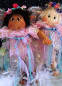 Cloth Soft Sculpture Toddler Fairy Doll Pattern with Instruction CD/49/Magic Wings - 50cm Tall-Made From Craft Velour