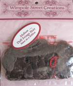 WIMPOLE Craft DOLL FRINGE HAIR Sewn on a RIBBON Size MEDIUM Colour DARK BROWN