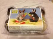 Rabbits! Lorna's Wool Needle-Felting Kits
