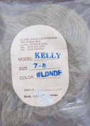 GLOBAL Craft DOLL HAIR WIG Model Style KELLY Fits SIZE 18cm - 20cm Colour BLONDE