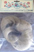 Imsco EXCLUSIVE Design DOLL HAIR WIG Style M-100 Fits SIZE 15cm - 18cm Colour SUNSHINE (Ash Blonde)