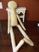 80cm Muslin Cloth Rag Doll Body-Raggedy-Form