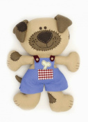 Sew and so anchor soft toy kit - blue the dog