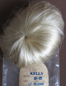 Global Craft DOLL HAIR WIG Style KELLY Fits SIZE 28cm - 30cm Colour LIGHT BLONDE Hair is Short & Straid