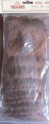 Tallina's Craft HAIR DOLL WIG Style Y503S Size 25cm Colour AUBURN