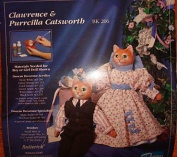 Clawrence & Purrcilla Catsworth - Create a Collectible Ceramic Bisque Doll Kit