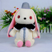 (Procosplay)vocaloid 3 Mayu Rabbit Microphone Cosplay Plush Doll & 100% Hand Made & best Gift