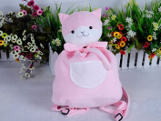 (Procosplay)Super Danganronpa 2 Goodbye Despair Campus Kitty Backpack Plush Doll for Cosplay