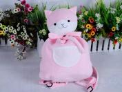 (Procosplay)Super Danganronpa 2 Goodbye Despair Campus Kitty Backpack Plush Doll for Cosplay