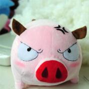 (Procosplay)peacemaker Kurogane Soji Okita Pig Anime Plush Doll Cosplay & 100% Hand Made & best Gift
