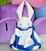 (Procosplay)pandora Hearts Alice White Ribbit Cosplay Plush Doll & 100% Hand Made & best Gift