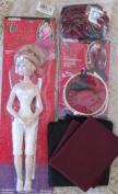 Fibre Craft VICTORIAN LADY Tea Party DOLL 37cm & VICTORIAN traveller Set, & EXTRA BONUS!