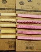 Decorative Ribbon - Buttercream Yellow - All My Memories Scrapbooking Supplies