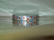 Sweet & Sassy Ribbon - Blue w/White and Brown Flowers