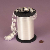 White Crimped Curling Ribbon, 1cm X 250 Yards