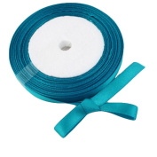 "OurWarm Teal Blue 3/8"" 9mm Wide Satin Ribbon 25Yard Birthday Party/Craft/Wedding Favours Bow Scrapbooking Decor"