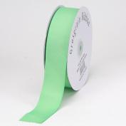 Mint Grosgrain Ribbon Solid Colour 1.6cm 50 Yards