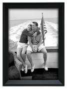 Malden Avalon Black Fashion Wood Frame, 13cm by 18cm