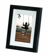 Prinz 13cm by 18cm Harper Black Wood Frame