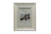 MegaShopping White Weathered Paint Finish 10cm By 15cm Picture Frames.