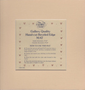 Gallery Quality Hand-Cut Bevelled Edge Mat (Inside Dimensions
