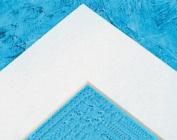 Sax 14 ply Die Cut Mats - 16 x 20 Outside, 27cm x 34cm Window - Pack of 10 - White Pebble