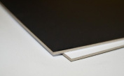 Savage Universal 41cm x 50cm / 10 Sheets Acid Free Mount Boards White/White Double Thick