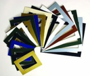 20 Assorted Size Picture Mounts - Mixed Colours