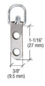 CRL 2-Eyelet Economy Swivel Metal Hangers - Package