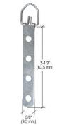 CRL 4-Eyelet Economy Swivel Metal Hangers