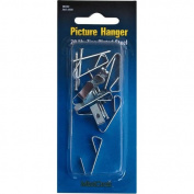 MINTCRAFT PH-121020 Zinc Picture Hanger, 20-Pound