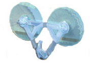 DYNO SEASONAL SOLUTIONS 31059 Suction Cup Wreath Hanger