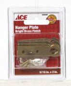 Ace 01-3625-241 PLATE HANGER 1.4cm x 5.1cm BRIGHT BRASS