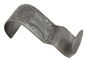 Light Duty Floral Satin Nickel Picture Hook