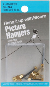 Moore Picture Hangers with Super Nail super nails with picture hangers (10 lb. capacity) pack of 4