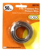 OOK 50174 Framers Hanging Wire Supports Up to 50 Pounds