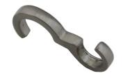 Thin Profile Satin Nickel Picture Rail Hook