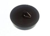 BASIN PLUG BLACK 38MM 1 1/2 INCH