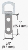 CRL 2-Eyelet Safety Swivel Metal Type Hanger - Pack of 4