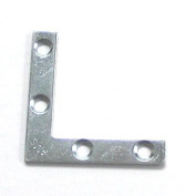 50 Frame 5.1cm Metal Re-enforcing Corner Angle Plate