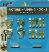 Picture Hanging Hooks Value Pack
